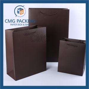 Luxury Brown Small Accessory Hand Paper Bag (DM-GPBB-187) pictures & photos