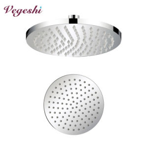 Round Rain Shower Head Brass Bathroom Ceiling Shower
