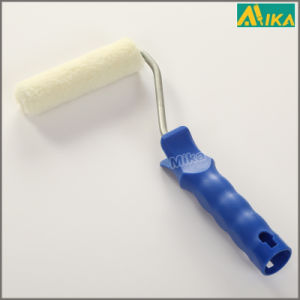 "4"" White Polyester Mini Paint Roller with Plastic Handle pictures & photos"