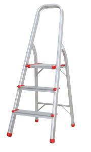 Aluminium En-131 Tool Stool Scaffold Work Platform Extendable Household Extendable Multipurpose Steel Telescopic Ladder