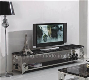 The Modern Living Room Furniture Glass TV Cabinet CT8024
