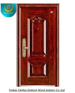 Metal Painting Door Steel Door for Egypt, Security Door pictures & photos