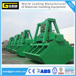 6-12m3 Electro Hydraulic Clamshell Grab for 25 Ton Marine Crane pictures & photos