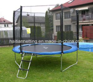 Round Big Trampoline with Enclosure pictures & photos