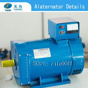 Single Phase St 10kw Alternator Type Brush AC Generator pictures & photos
