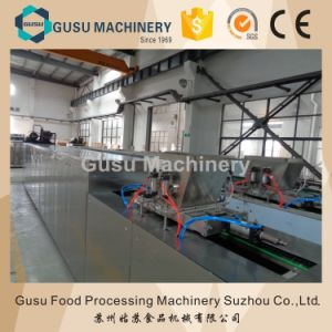 SGS Gusu Center Filling Chocolate Bar Moulding Depositing Machine pictures & photos