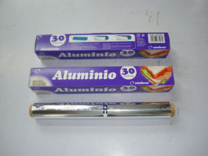 Alloy 8011 Aluminium Foil Roll for Food From Chinese Manufacturer pictures & photos