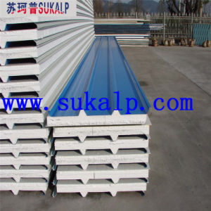 EPS Sandwich Wall Panel Steel The Prefab House pictures & photos
