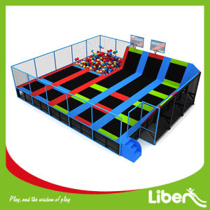 Trampoline with Basketball Hoop/Trampoline Jumping Foam Pit pictures & photos