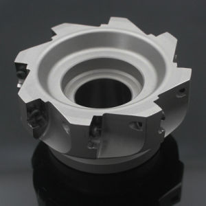 Hard Alloy CNC Metal Cutting, Square-Should Milling Cutter, Also Can Provide Brand Insert pictures & photos