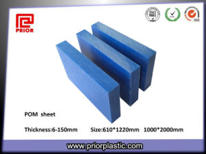 Blue POM Sheet/Blue Acetal Sheet/Blue Delrin Sheet pictures & photos