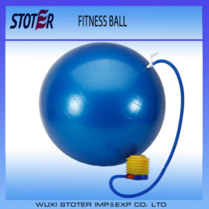 Factory Anti Burst Custom Color 65cm Ecofriendly PVC Body Sport Fitness Ball pictures & photos