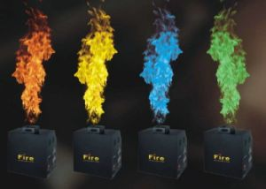 DMX512 4 in 1 Colorful Mini Fire Flame Projector with 4 Colors pictures & photos