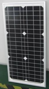18V 30W 35W Monocrystalline Solar Power System Panel PV Module with Ce Approved pictures & photos