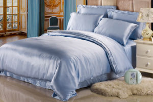 Anti-Acarid 100% Pure Mulberry Silk Solid Colour Bedding Sets