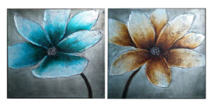 Directly Factory Wholesale Abstract Group Painting for Decoration (LH-082000) pictures & photos