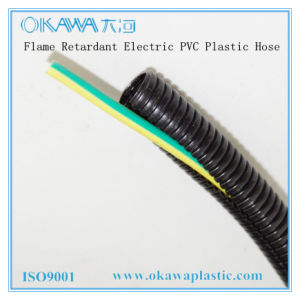 Flame Retardant Electric PVC Plastic Hose pictures & photos