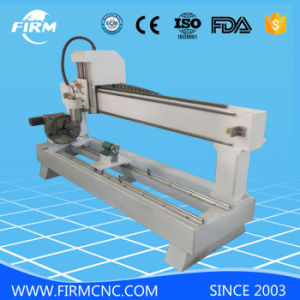 Cylinder Wood Engraving CNC Router Machine Fmc1200 pictures & photos