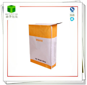 Kraft Paper Valve Bag Packing Plaster, Dry Mortar, Cement, pictures & photos