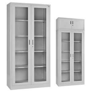 Office Storage Glass Door File Storage Cupboard pictures & photos