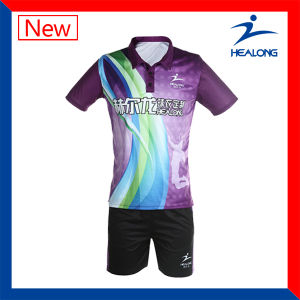 Sports Jersey Custom Designs Unisex Full Sublimation Badminton Set pictures & photos