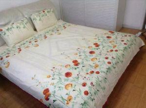 100% Cotton205 Tc Sateen Printed Pillowcase Pillow
