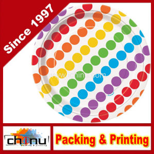 Custom Printed Rainbow Party Plates (130069) pictures & photos