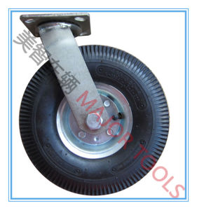 10 Inch High Quality Pneumatic Swivel Caster Rubber Wheels pictures & photos