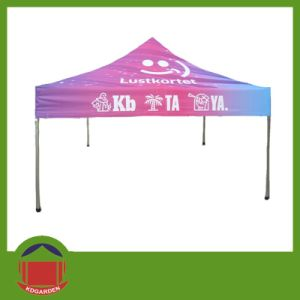 40mm Alum Pop up Folding Tent with Printing pictures & photos