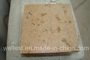 L727 Beige Limestone for Garden/Patio/Poolflooring and Wall Cladding Tile pictures & photos