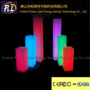 Dressing up Outdoor Column Lamp LED Solar Square Column pictures & photos