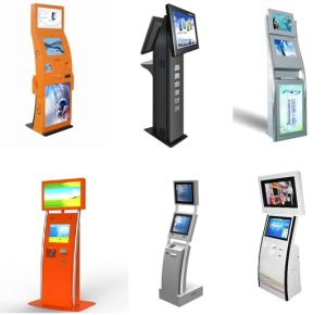 Muti-Function All in One Touch System Machine Kiosk with Second Display
