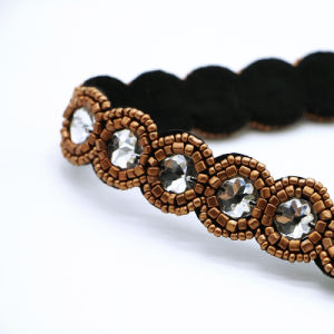 New Fashion Bohemian Brown Beads Hairwraps National Style Handmade Elastic Personality Hairwrap Original Headbands pictures & photos