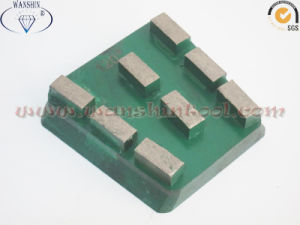 China Segmented Diamond Marble Abrasive Block pictures & photos