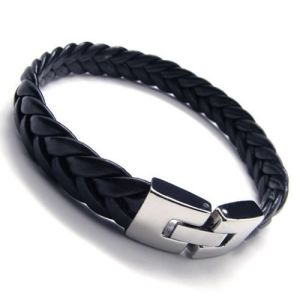 Jewelry Men′s Leather Bracelet