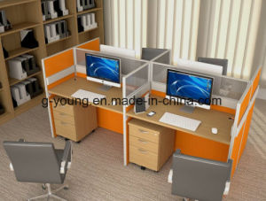 Bottom Price Computer Table Workstation Office Furniture pictures & photos