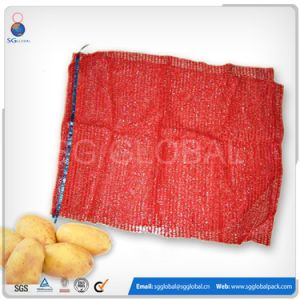 Packaging 30kg Onions Potato Mesh Net Bag pictures & photos