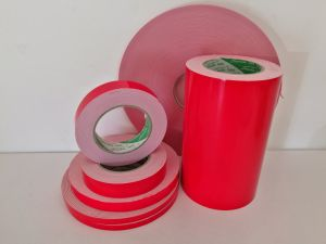 Polyacrylate Red Color PE Foam Double Sided Tape pictures & photos