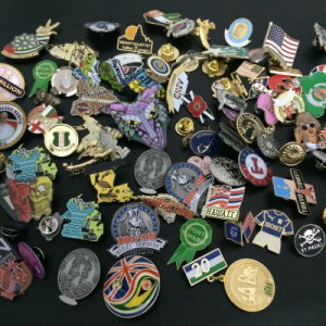 Customized Offset Printing Lapel Pins / Badge pictures & photos