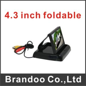 4.3 Inch Foldable Type Car LCD Monitor pictures & photos