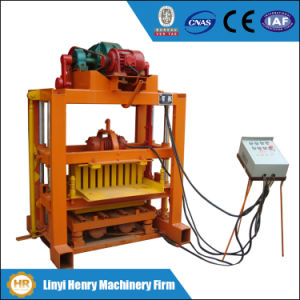 Simple Qtj 4-40c Solid Brick and Concrete Hollow Block Making Machine pictures & photos