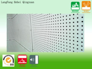 Perforated Ceiling Panels for Sound Absorption (600*600*6)