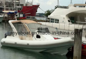 Liya 3.3-8.3m Cruisers Yacht Inshore Rib Boat Fiberglass Inflatable Boat pictures & photos