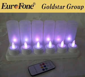LED Flameless Pillar Candle/LED Tea Light Candle/Wedding Candle Light pictures & photos