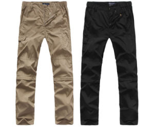 Factory Outdoor Sport Pants Dry Fit Removable Type Leisure High Quality Wholesale Men′s Trousers pictures & photos