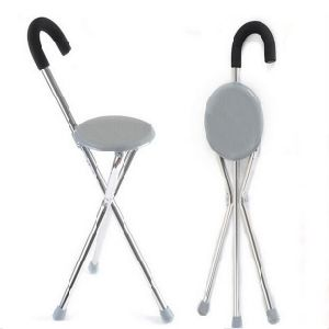 Elderly Walking Aid with Seat pictures & photos