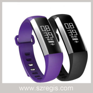 "0.86"" Touch Srceen Waterproof Sport Bluetooth V4.0 Silicone Smart Bracelet pictures & photos"