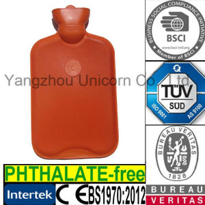 TUV Rubber Water Bottle Medical Hot and Cold Therapy Bag pictures & photos