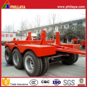 Double Axles Drawbar Dolly Trailer for Tractor/Semi Trailer Connecting pictures & photos