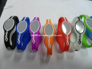 Pofessional Power Ion Balance Silicone Wristband pictures & photos